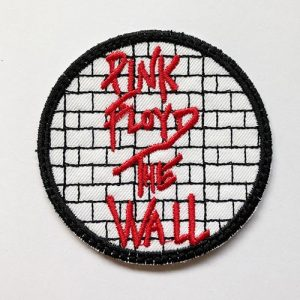Parche Pink floyd The Wall Redondo